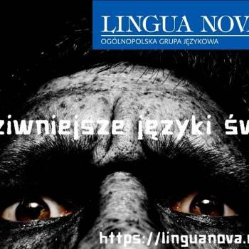 Najdziwniejsze języki świata- ciekawostki