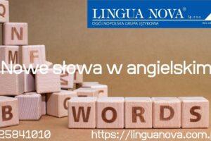 nowe słowa w angielskim